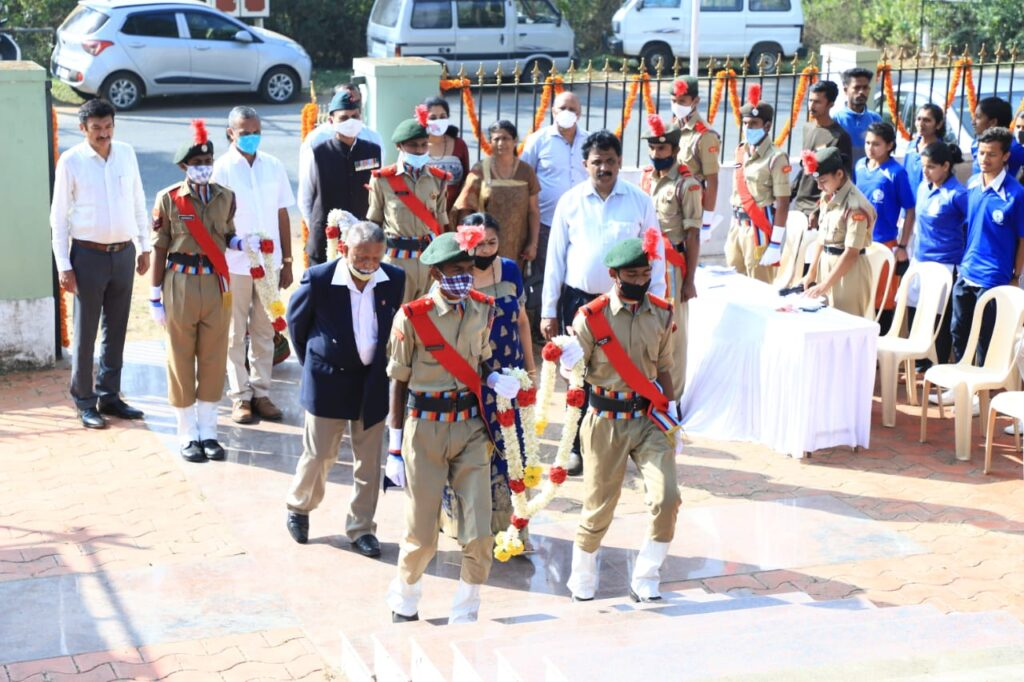 Birthday Anniversary of Field Marshal K.M Cariappa celebrated on 28.01.2021
