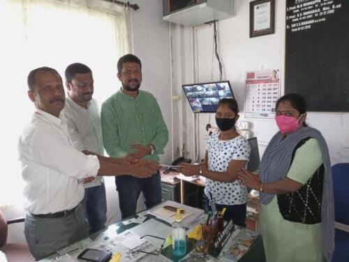 Philanthropic contribution to our PU  students